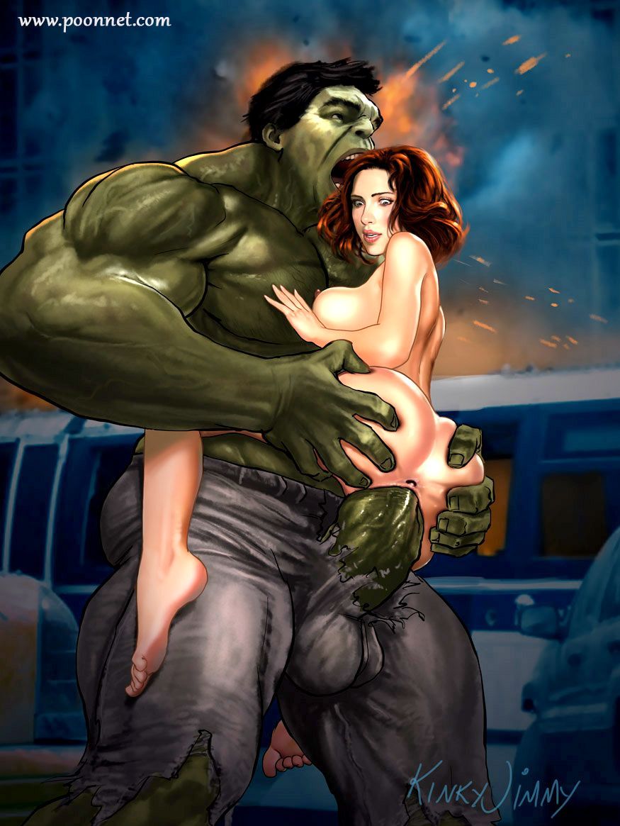 Black widow superhero naked sex image