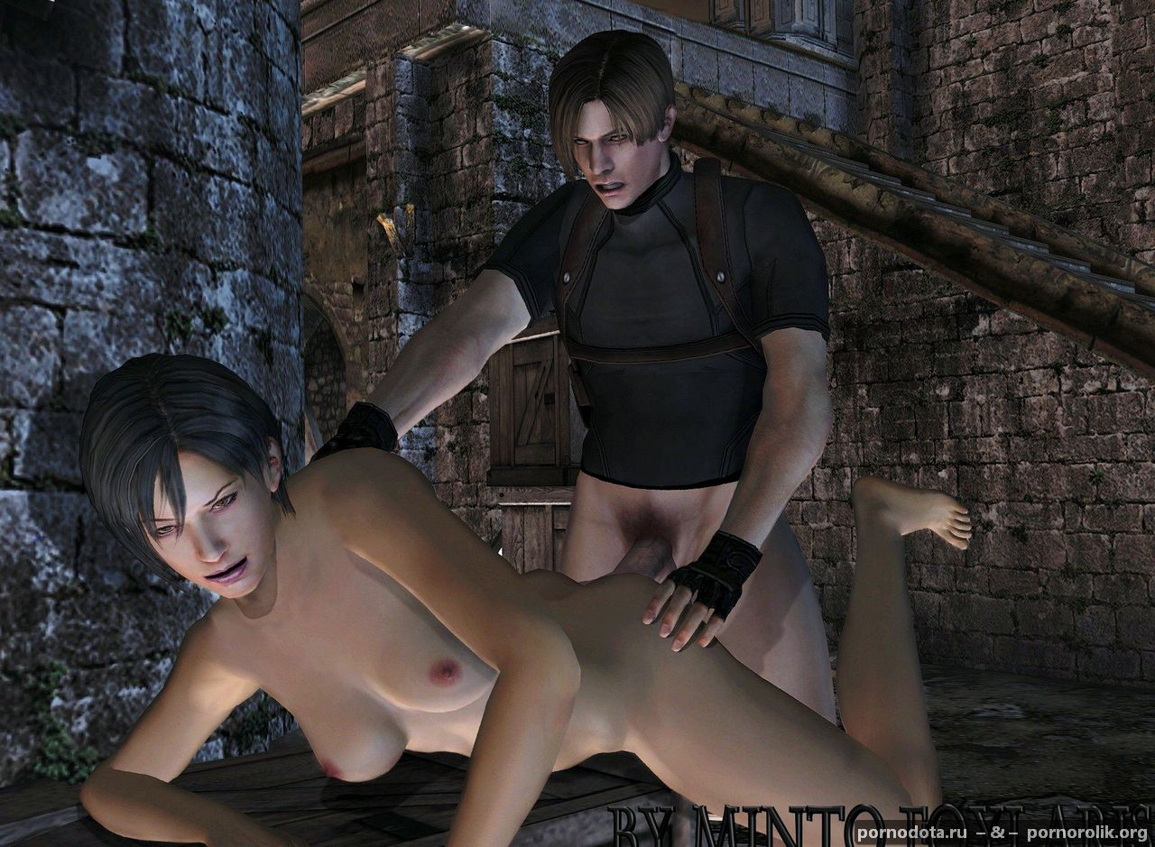 Free cartoon sex resident evil leon having  hentay image