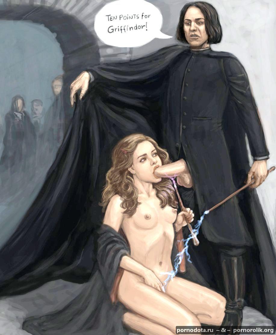 порно гермиона малфой