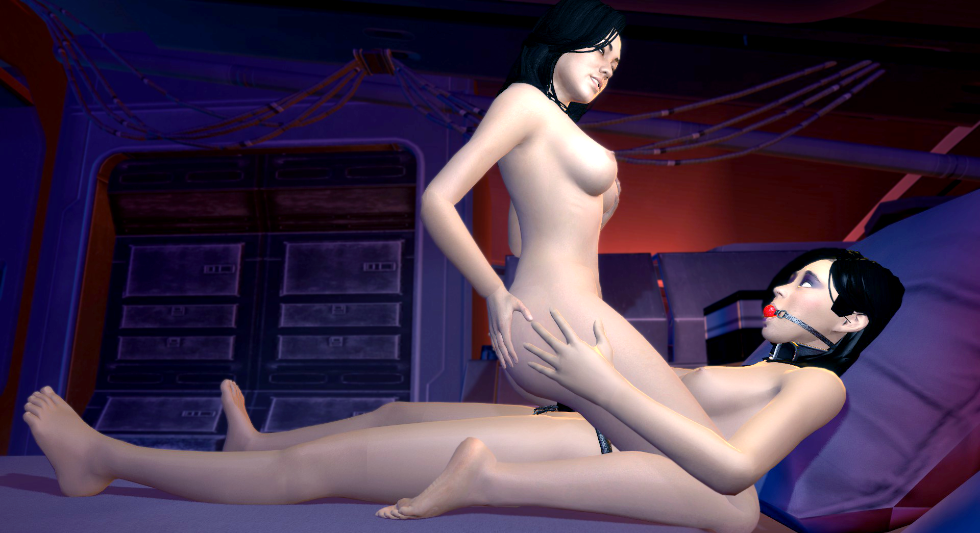 Mass effect nude modding nsfw pic