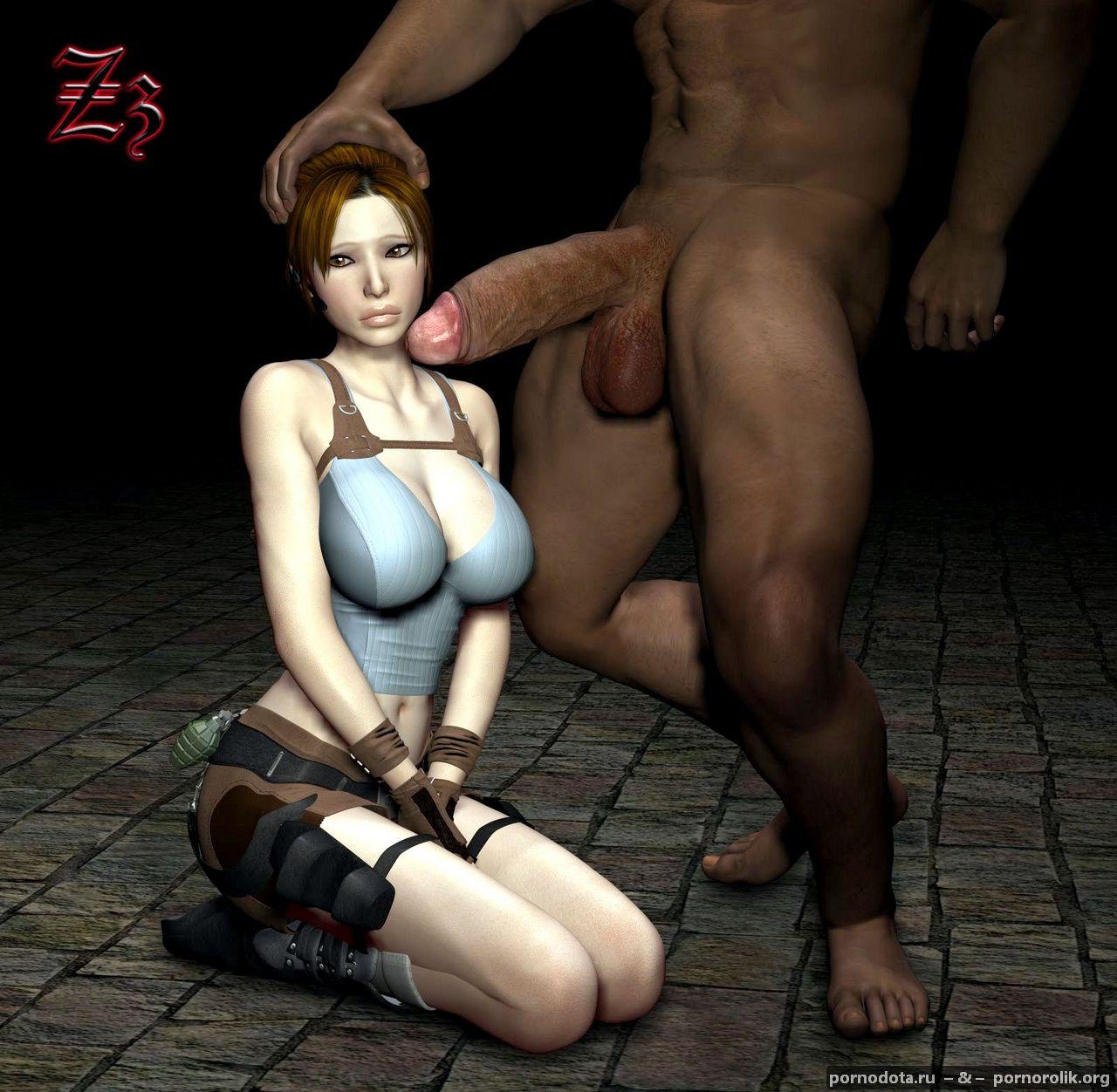 лара крофт и зомби 3д порно