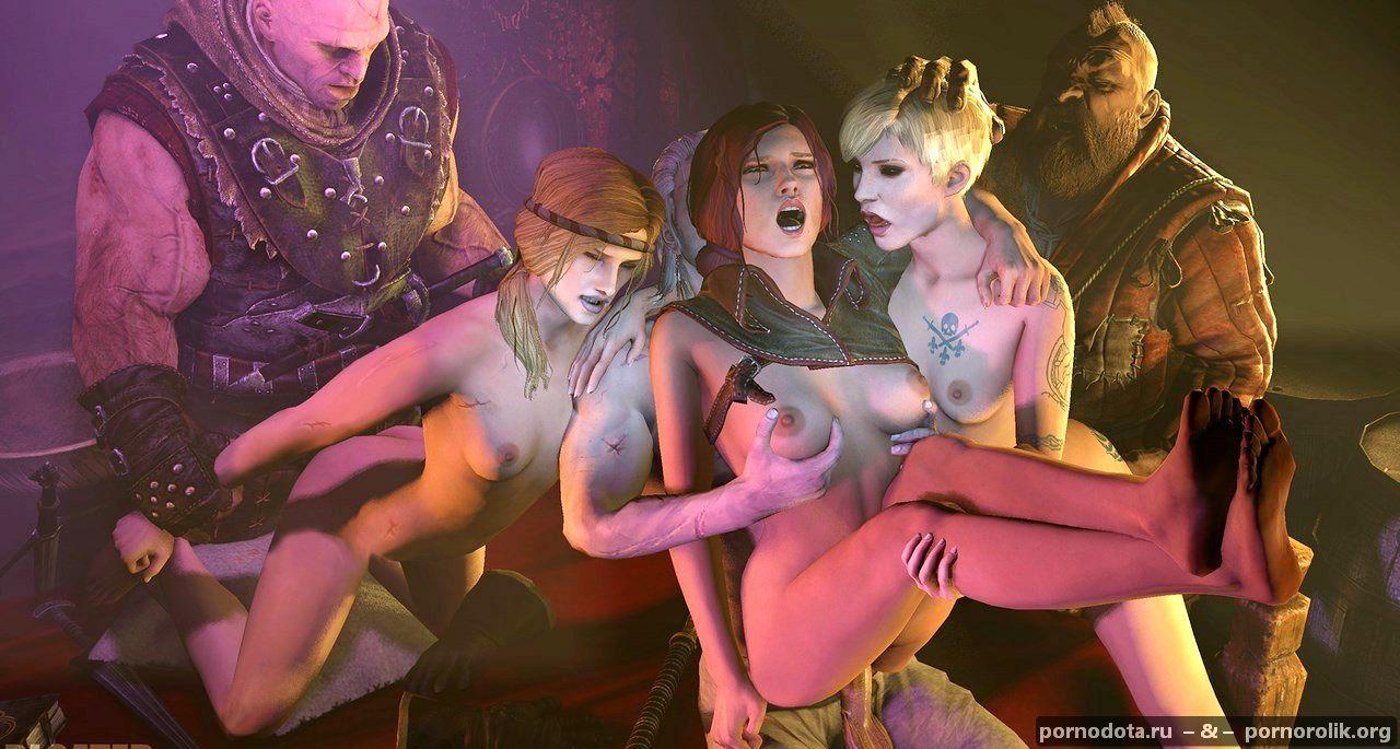 Ведьмак бьянка секс