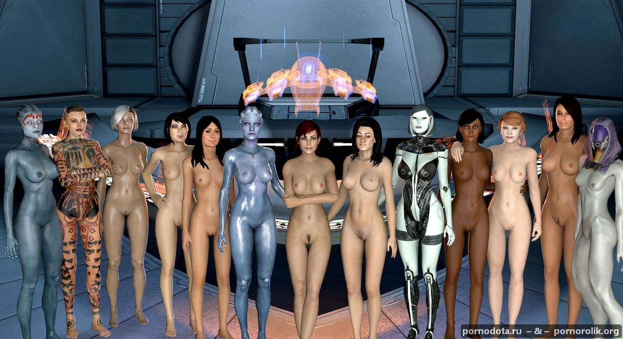 Mass effect nude mod women cartoon download