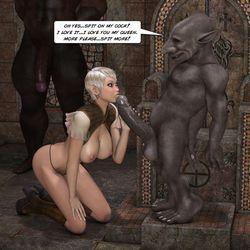 Порно эльфы гоблины