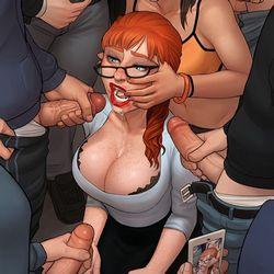Порно рисованное бдсм