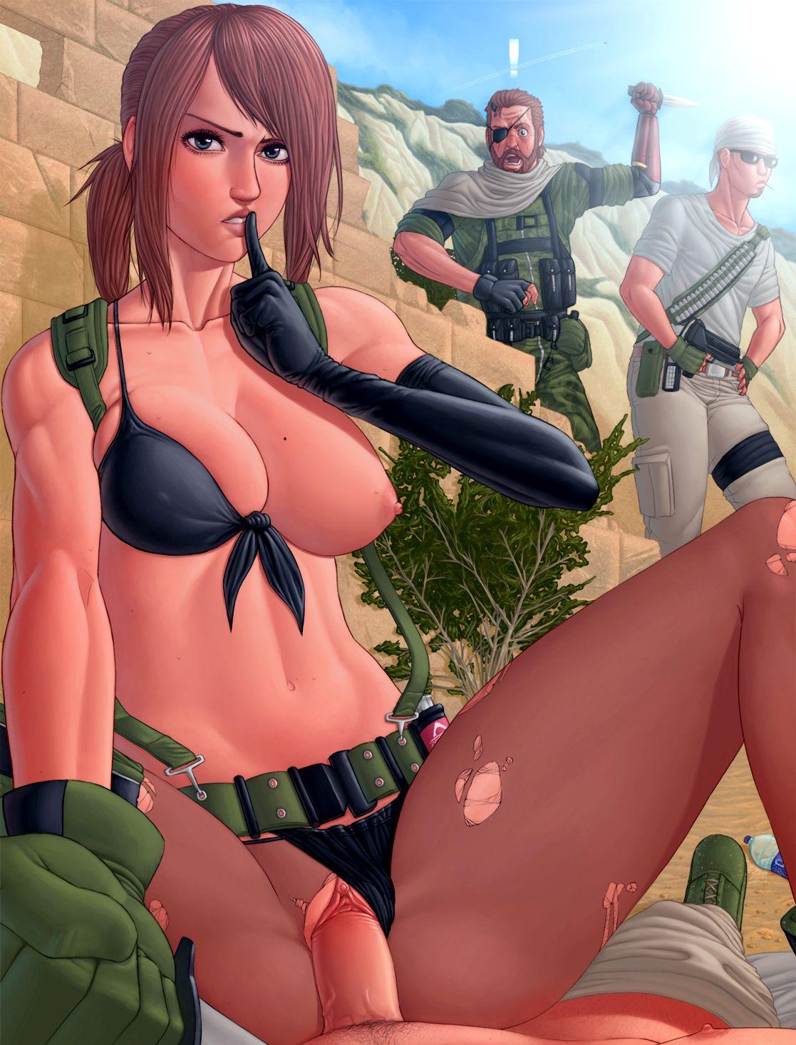 Порно Метал Геар Солид 5
