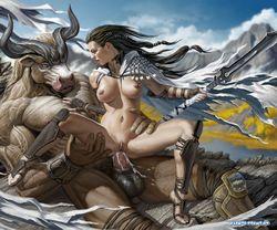 эротические картинки голых героинь доты